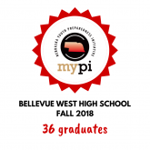 36 Bellevue West Students Graduate from MyPI Nebraska